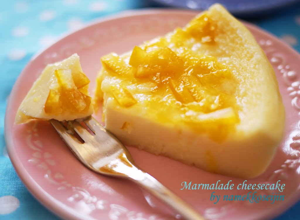 マーマレードチーズケーキ9小文字